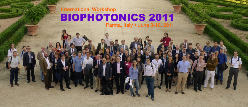 BioPhotonics 2011 group photo: courtesy of Dr. Frank Chuang